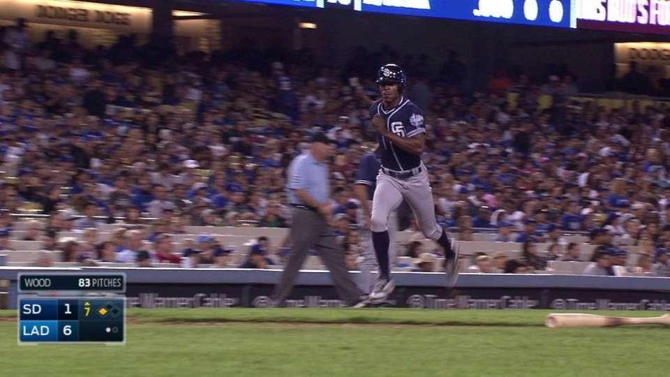 Decker's first career RBI