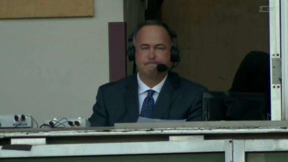 Orsillo thanks the fans