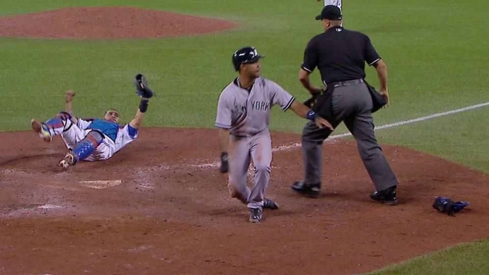 Bautista nabs Young at home