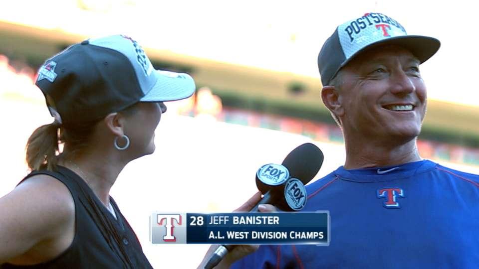 Banister on Rangers winning West