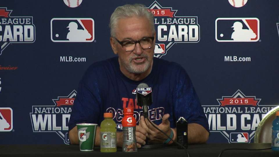 Maddon on 4-0 win in Wild Card