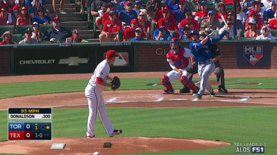 Donaldson's two-run homer