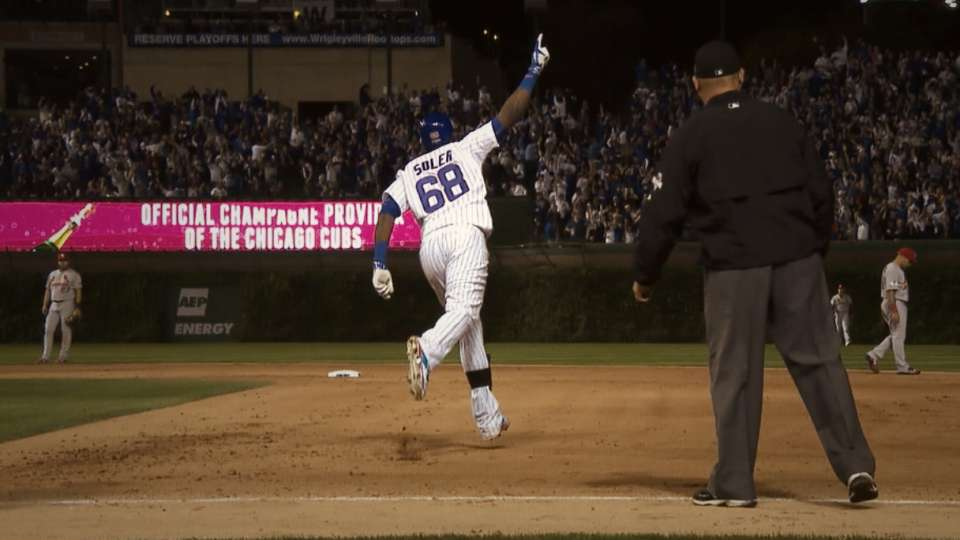 Cubs hit six homers in win