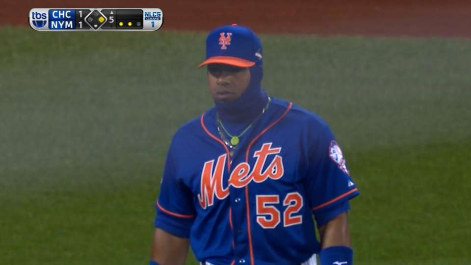Cespedes nails Castro at plate