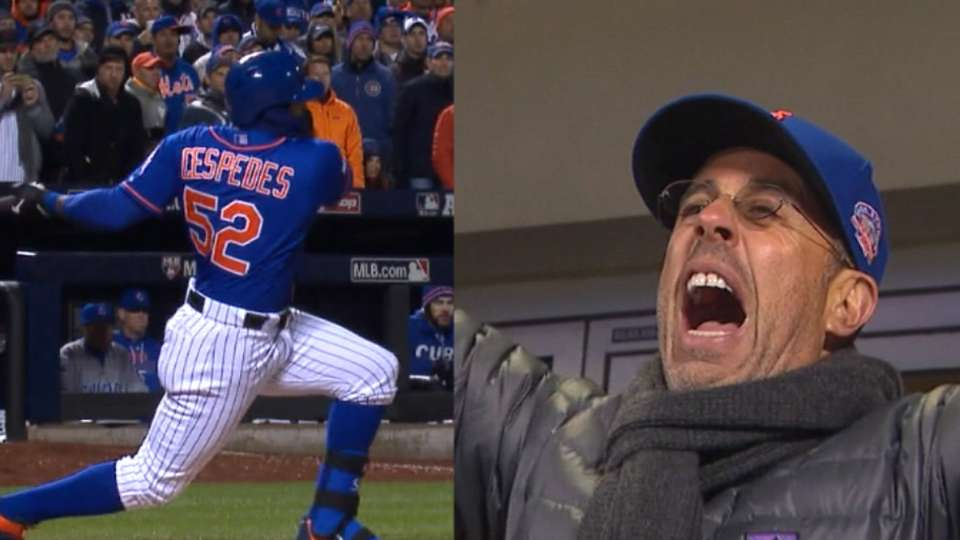 Seinfeld cheers Cespedes' single