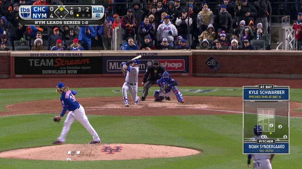 Syndergaard's ninth strikeout