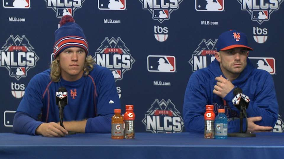 Syndergaard and Wright on win