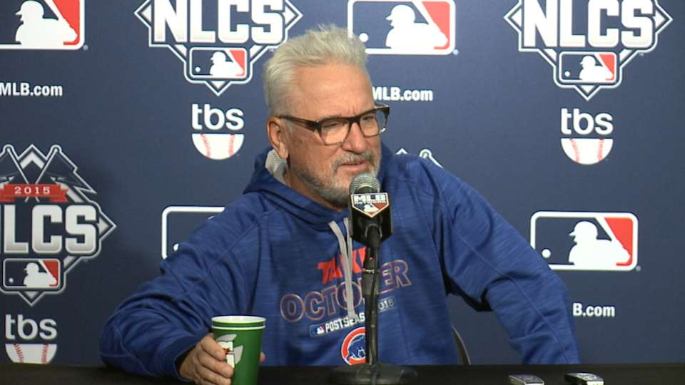 Maddon on bouncing back, weather