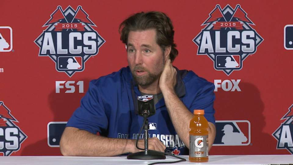 Dickey on facing the Royals