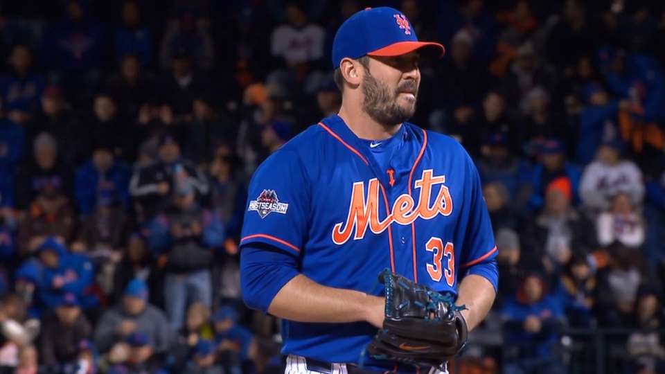 MLB Tonight: Mets pitching staff