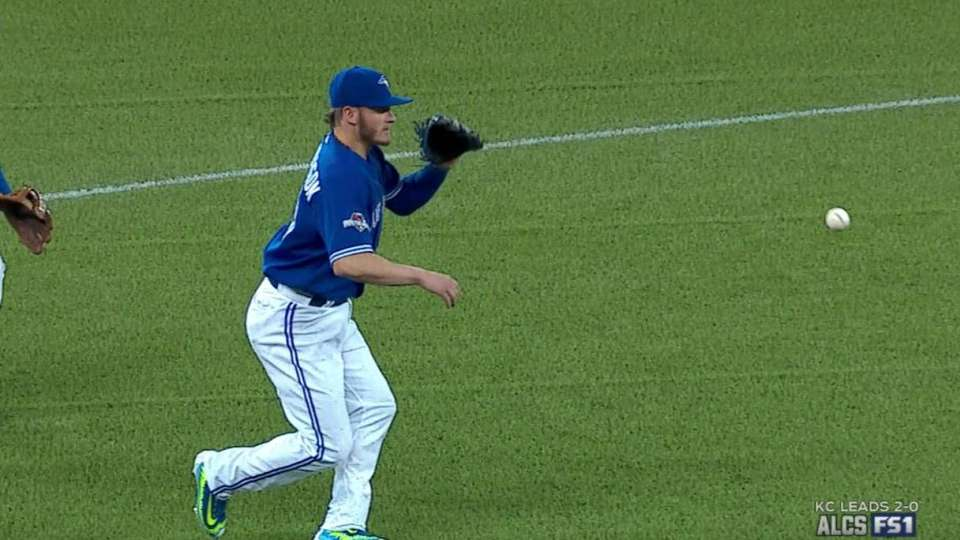 Donaldson's heads-up play