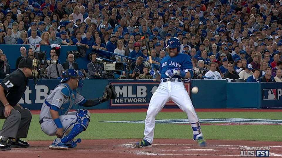 Martin hit by a pitch