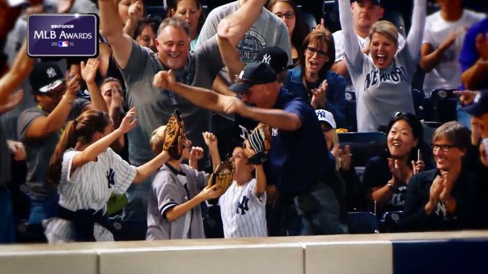 MLB Tonight: Best Fan Catches
