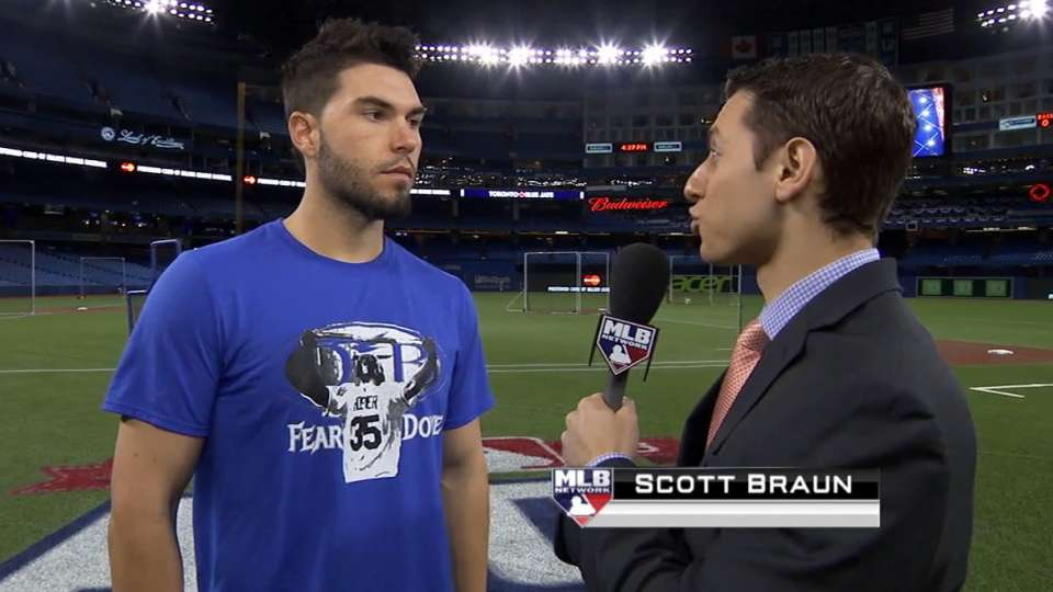 Hosmer on playing in Toronto