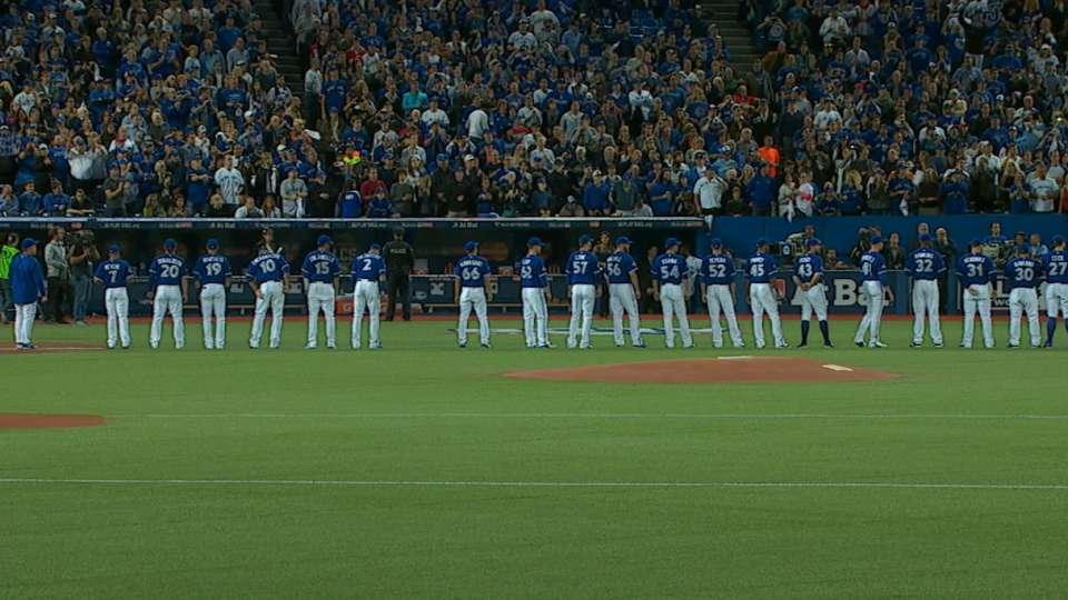 Gibbons, Blue Jays introduced
