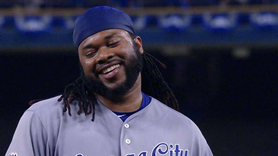 Cueto laughs off mock cheers