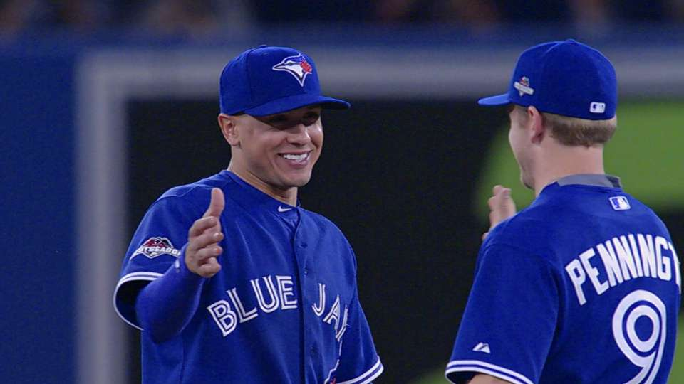Blue Jays on Goins' big night