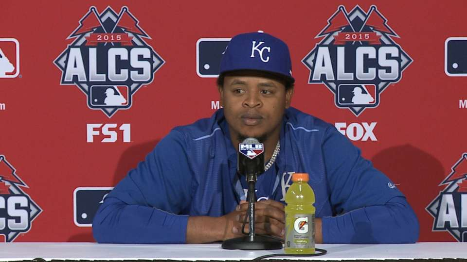 Volquez on pitching in Toronto