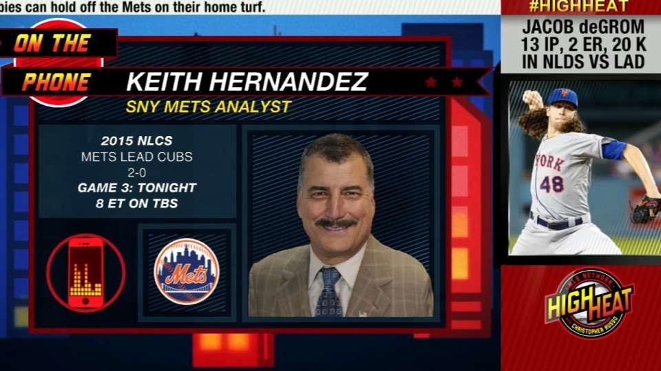 Hernandez on Mets, NLCS
