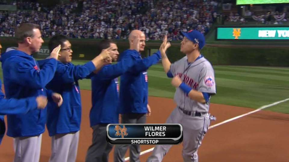Mets' starters introduced