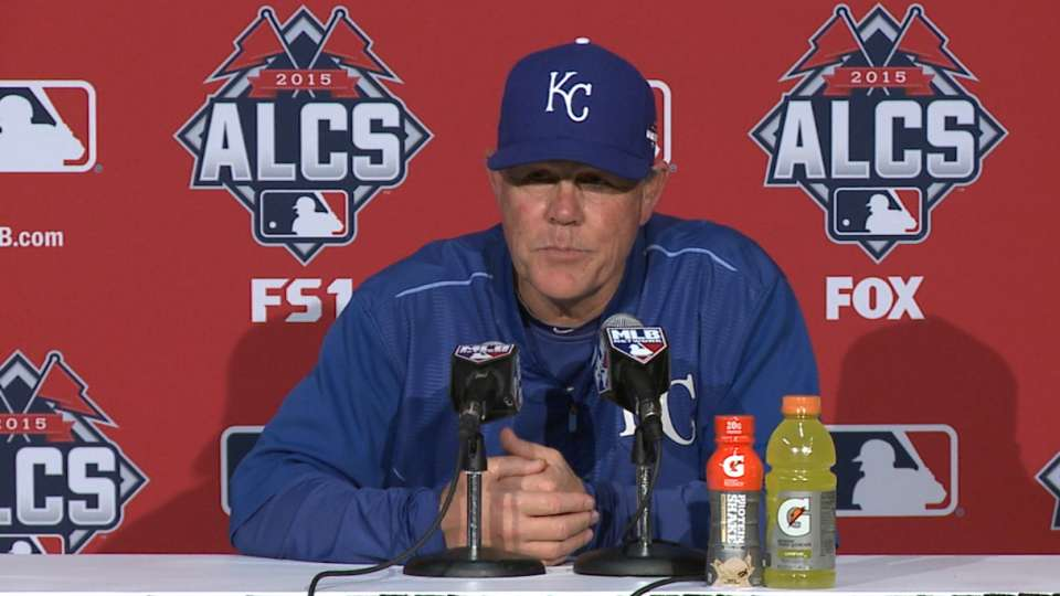 Yost on Rios, Game 4 win