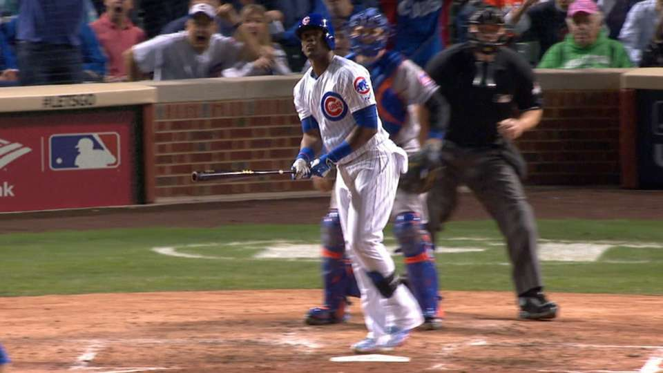 Soler's homer to center
