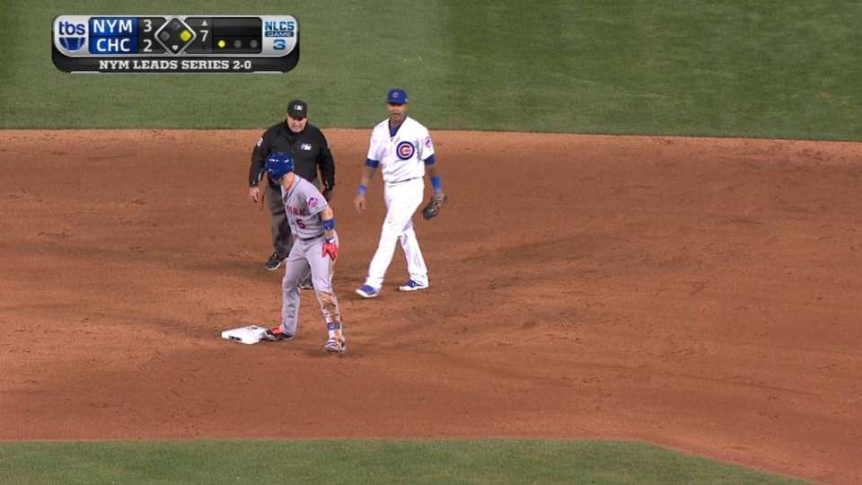 Wright hustles for double