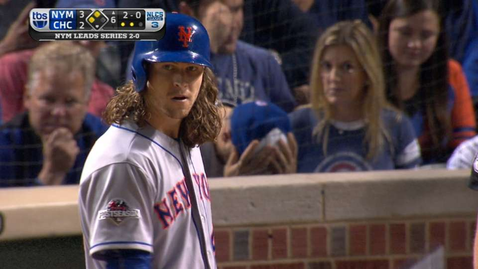 DeGrom flies out to end 6th