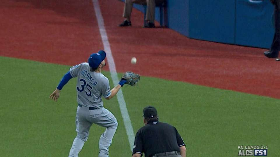 Hosmer's over-the-shoulder grab