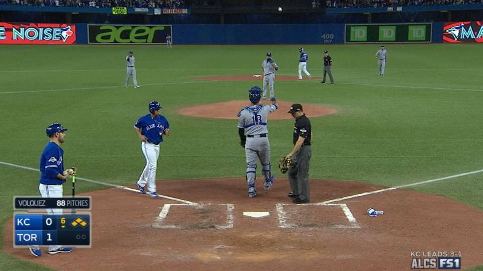 Jays score run without a hit