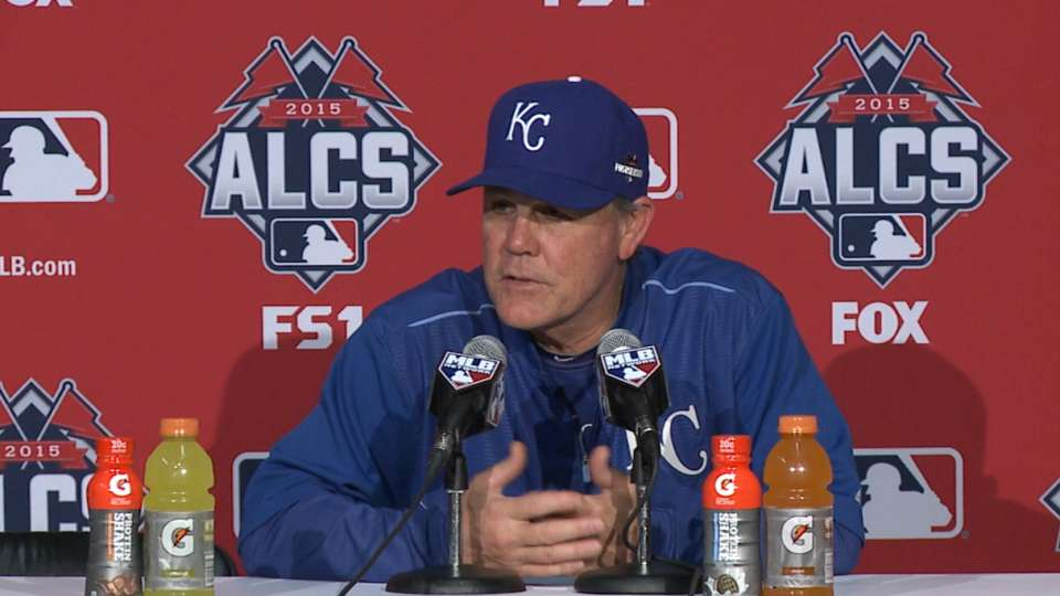 Yost on Game 5 loss, going home