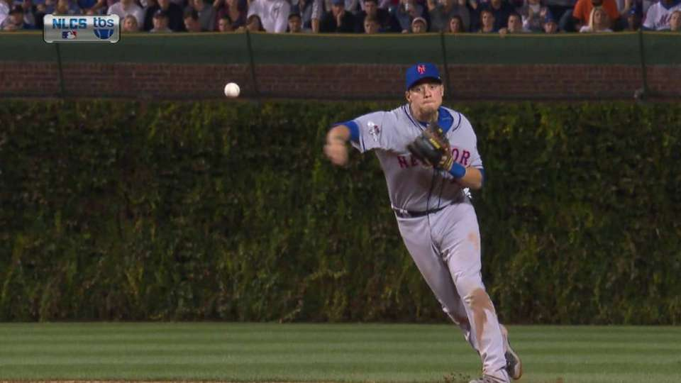 Flores, Duda combine for the out