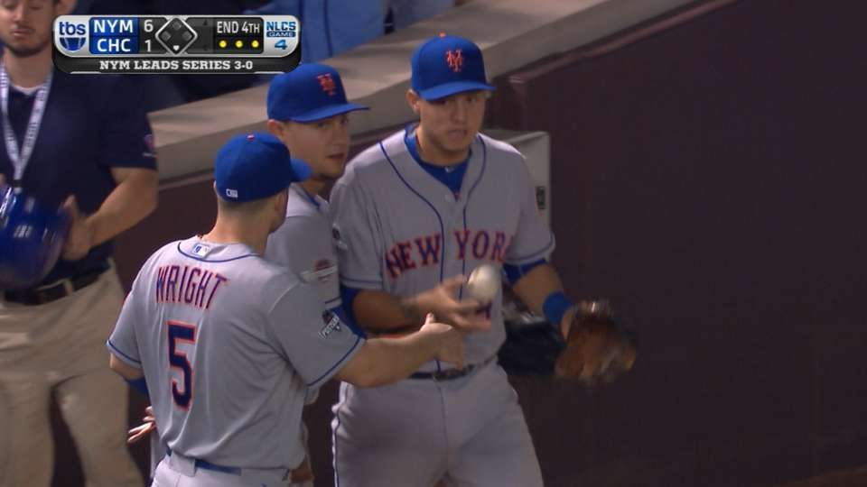 Mets limit Cubs to run in 4th