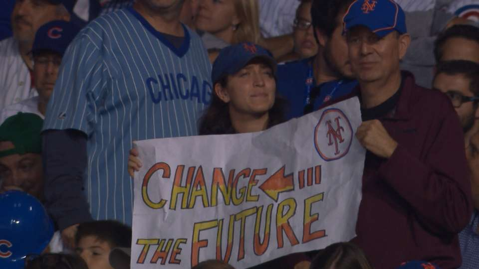 Back to the Future at Wrigley