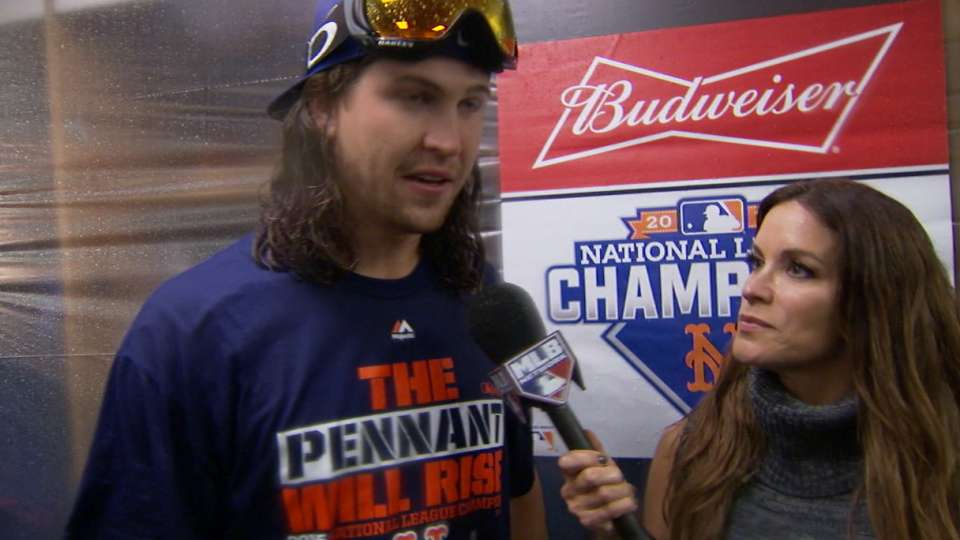 DeGrom on clutch pitching