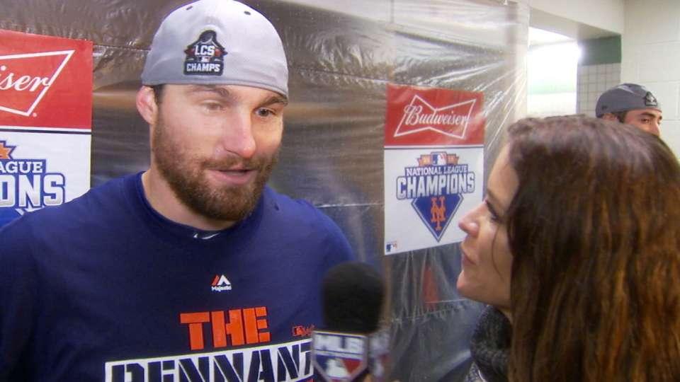 Murphy on making World Series