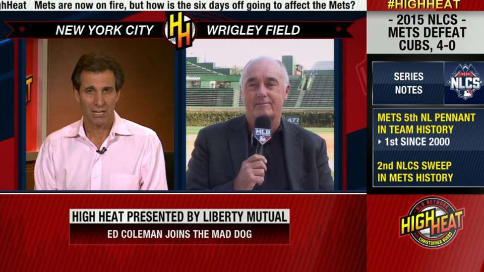 Coleman talks Mets and NLCS