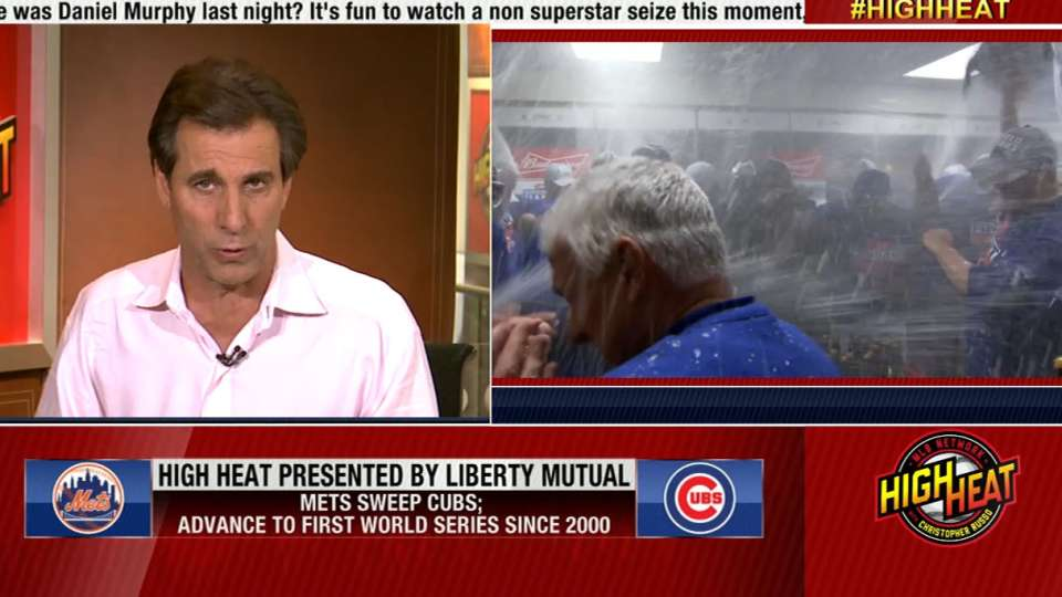 Russo on Mets sweeping Cubs