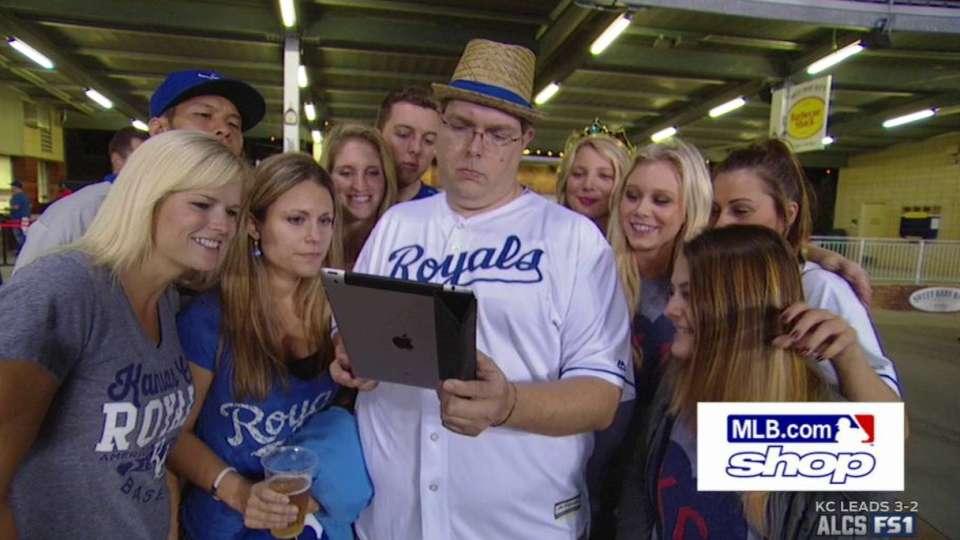 'iPad Guy' at Game 6