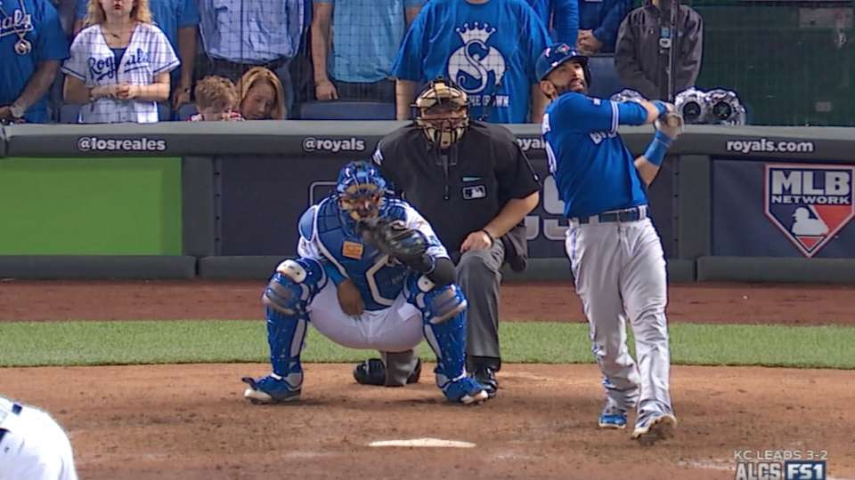 Bautista's two-run home run