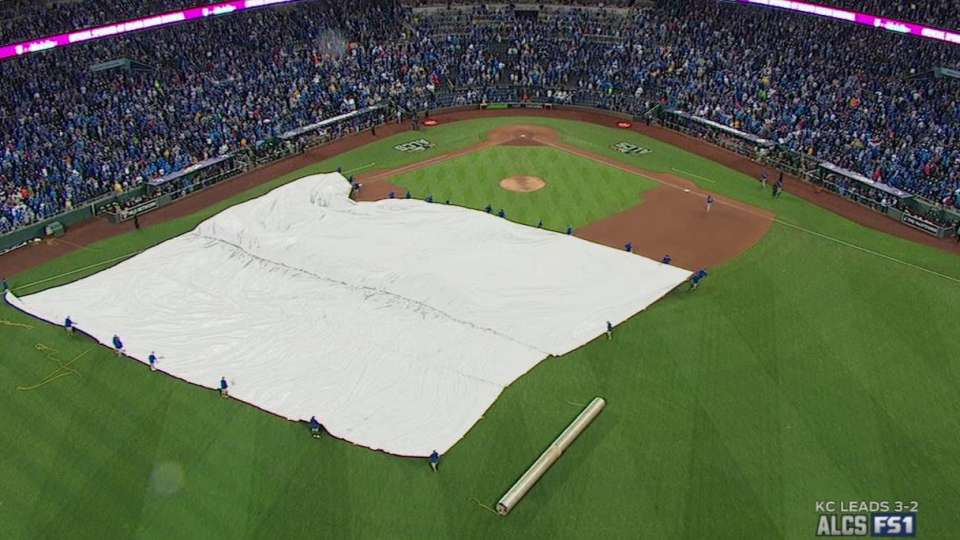 Game 6 delayed due to rain