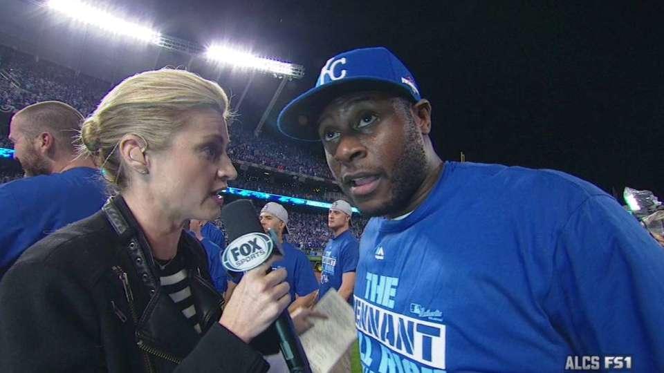 Cain on Royals winning ALCS