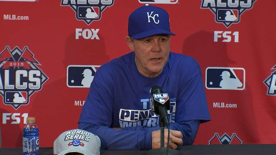 Yost on ALCS-clinching victory