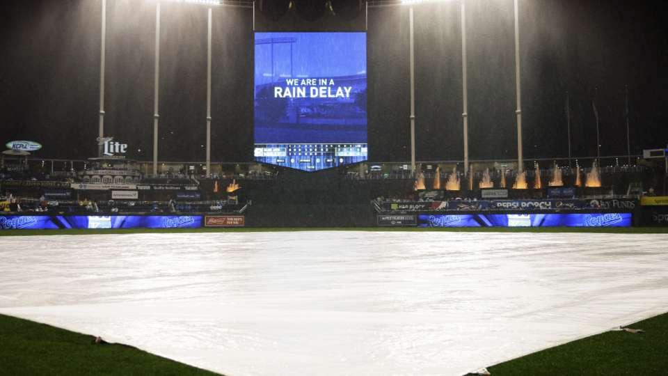 Yost on 45-minute rain delay