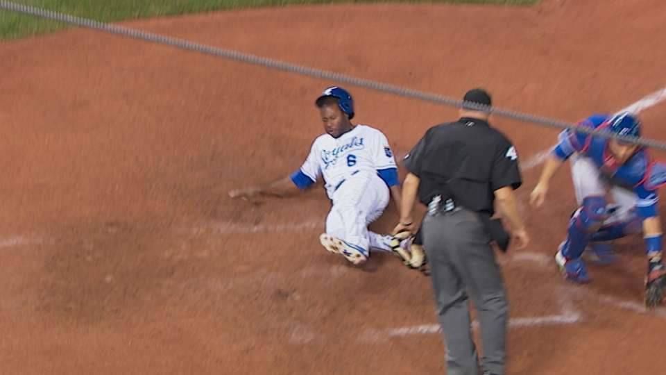 Royals on Cain's hustle