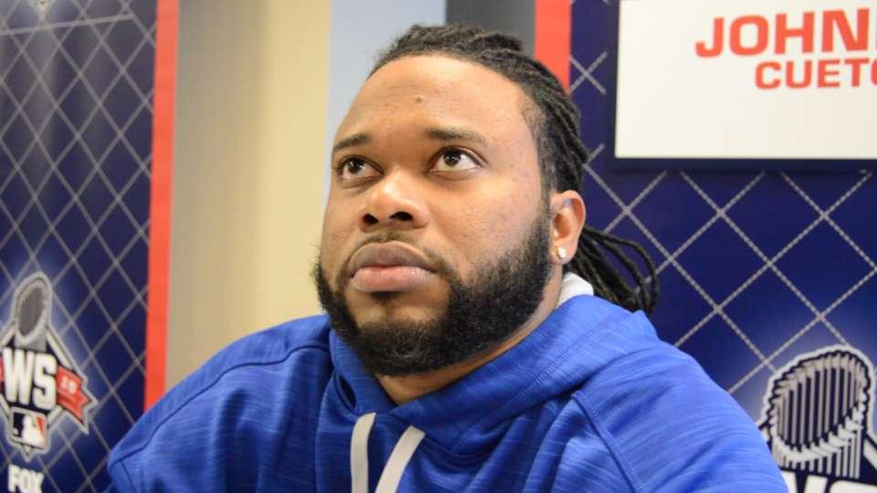Cueto sobre los Mets