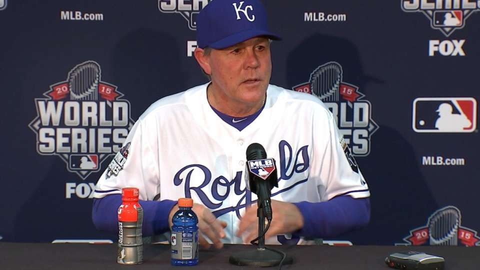 Yost on Royals' Game 1 victory
