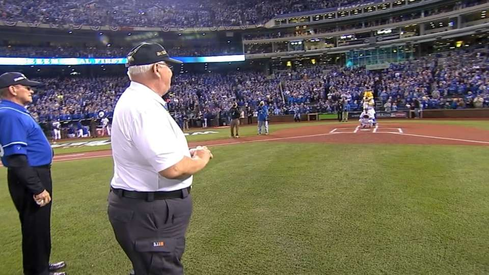 Veterans throw out first pitch