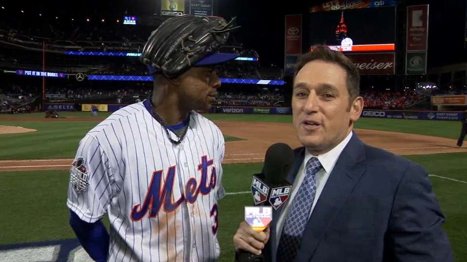 Granderson on homer, Game 3 win