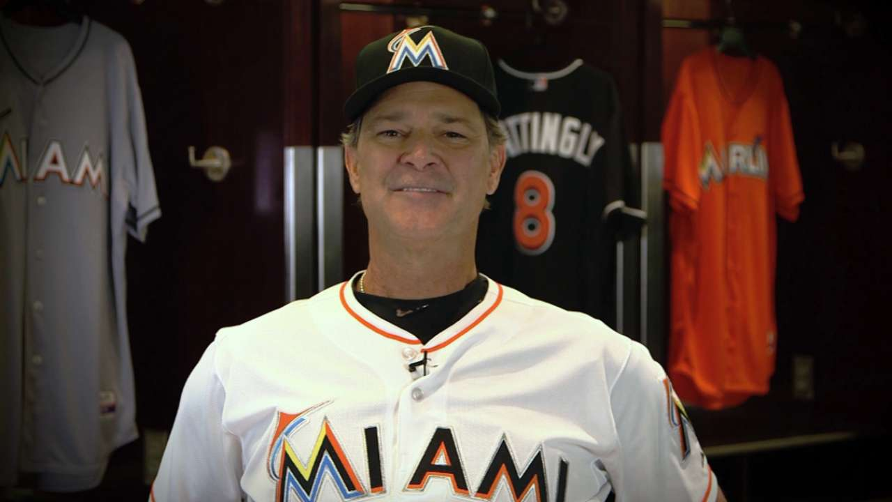 ca7f9562428 Marlins name Don Mattingly manager